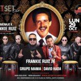 Frankie Ruiz JR, David Kada y Grupo Mania