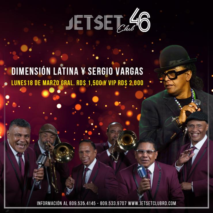Dimensión Latina y Sergio Vargas