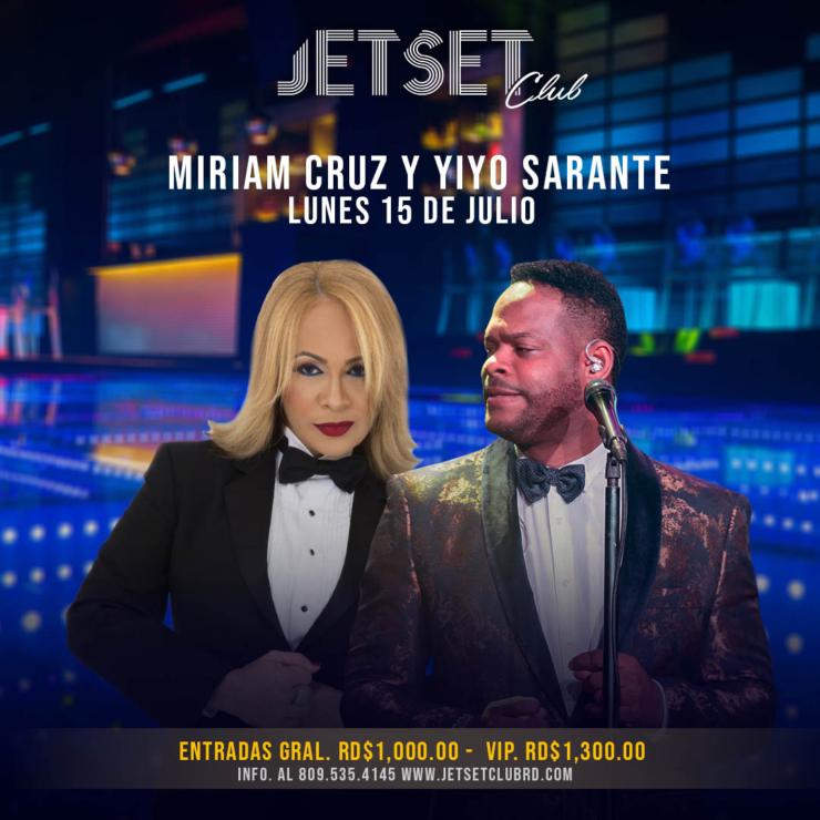 Miriam Cruz y Yiyo Sarante